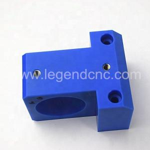 China Blue CNC Milling Components , Nylon Parts Custom CNC Milling on sale