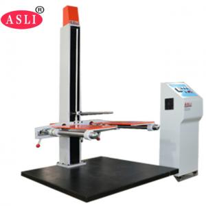 China Digital Double Swings Drop Testing Machine / Free Falling Drop Tester CE  ISO on sale