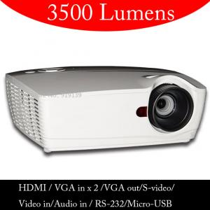 China Best Price HD Projector High Lumen With HDMI RS232 VGA PC For Computer DVD PS Wii Xbox on sale