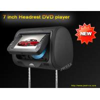 China 7 inch Headrest DVD player with 32 bit games on sale