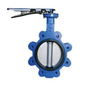 China Nodular cast iron Lug Type Cast Steel Valves Medium Water, Oil, Steam on sale