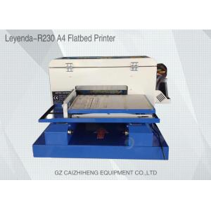 China High Definition Flatbed Small Format UV Printer Accurate Easy Operation on sale