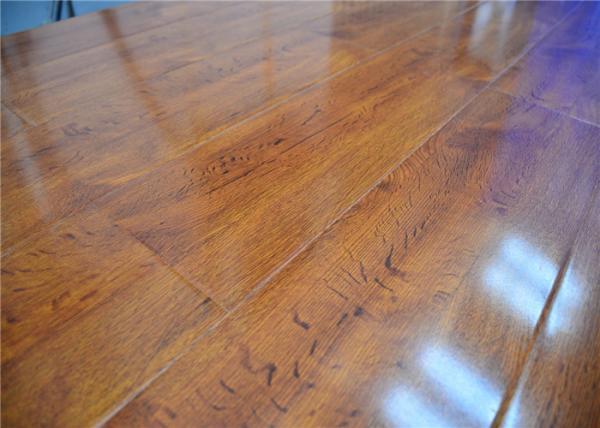 Natural High Density Glueless Wood Decorative Laminate Flooring In