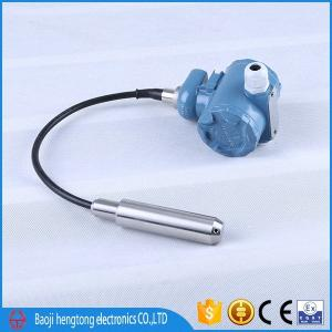 China 0-10V /4-20mA IP67 China low price level transmitter for water or oil test on sale