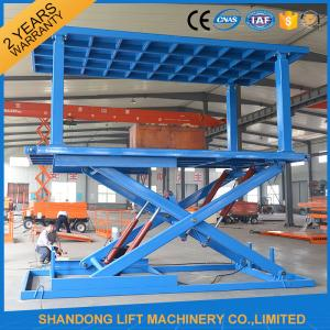 China 6T 3M Hydraulic Portable Car Lift Double Deck Car Parking System With CE on sale