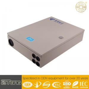 China Indoor Type Optical Fiber Network Distribution Box Wall Mounting 340x100x460mm on sale