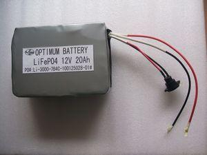 China Low-Discharge Lithium Iron Phosphate Battery For Tricycle 12 Volt 20ah on sale