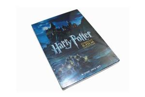 China Harry Potter The Complete 8-Film Collection Set DVD Movie Adventure Fantasy Series Film DVD on sale