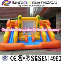 Cheap Inflatable Island Water Slide