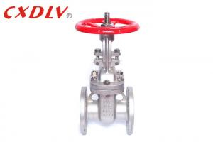China Through Conduit Gate Valve Double Flange Ends Resilient Wedge ANSI Standard on sale