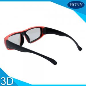 China Children Universe Passive Cinema 3D Glasses Linear Polarized For IMAX System on sale