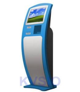 China Unique Design Card Dispenser Kiosk UPS 50Hz - 60Hz Frequency With Credit Card Reader on sale