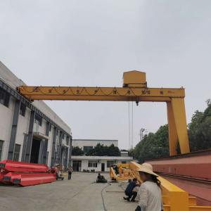 China Durable Double Girder Gantry Crane Driver Room Wireless Remote Control on sale