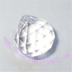 China China plastic acrylic faceted crustal jewelry diamond pendants beads on sale