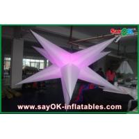 Party Event Decoration Inflatable Hanging LED Light Star For Advertising