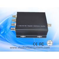 China 1x4 3G/HD/SD SDI distribution amplifier for 1ch sdi signal input and output 4 sdi signals on sale