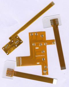 China Flat Tactile Flexible Printing Circuit Boards , Custom Made FPC Circuit Board on sale