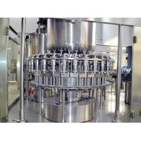 Grain Juice Fully Automatic Bottle Filling Machines3.8kw 1000-30000BPH Capacity