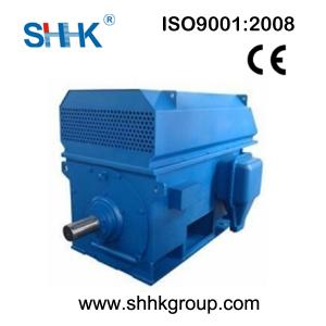 China 3kv 6kv 10kv YRKK Wound rotor slip ring motor 185-4500kw on sale