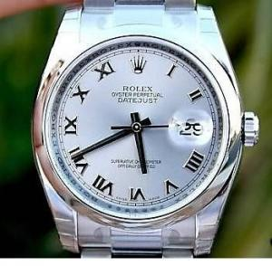 China ROLEX WATCH MENS DATEJUST STAINLESS STEEL BOX PAPERS 116200 Year 2014 UNWORN on sale