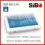 PC fixado na parede da tabuleta de SIBO com porta de série e ethernet para o Smart Home