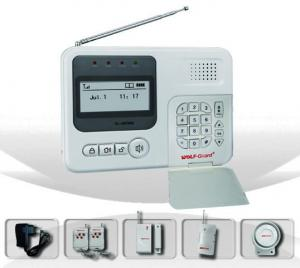 China OEM/ODM auto-dial 6 zones anti-interfere pstn alarm system with status LED on sale