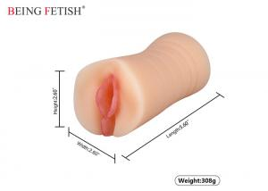 China Super Soft Pocket Pussy Sex Toy Real Silicone Woman Vagina Girl Pussy For Men on sale