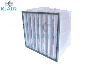 China Air Conditioner Pleated Air Filters Synthetic 24 X 24 X 22 For Gas Turbine on sale
