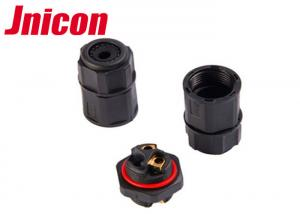China 2 Way Outdoor Waterproof Connector Field Assembly Screw Terminal 2 Pin 20A / 300V on sale