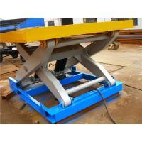 Utility cargo indoor scissor lift table 1500mmx750mm CE / ISO9001 Certification