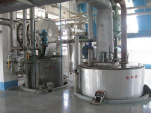 China Computer Integrated Detergent Powder Making Machine No Dead Ends CE Certificates on sale