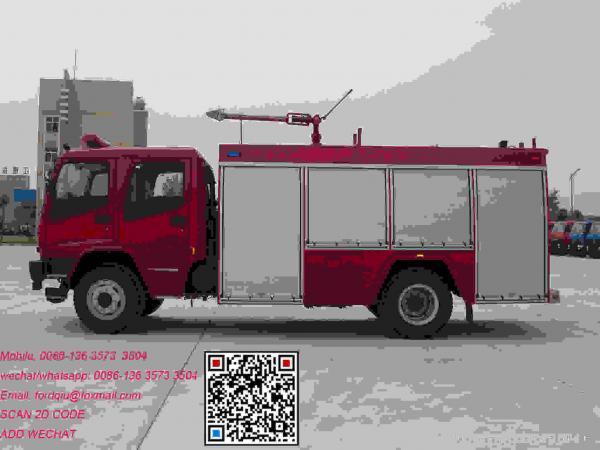 Isuzu fvr water tank 6m3 brand new fire truck water tank 6m3
