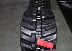 China Joint Free Takeuchi Replacement Tracks 52.5mm Pitch Anti Slip In Black Color on sale