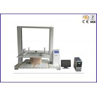 Computer Control Packaging Testing Instruments , Carton Resist Compression Testing Equipment