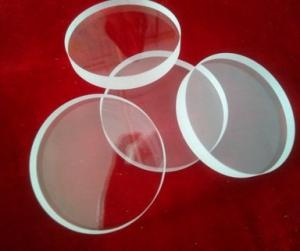 Quality 良質JGS2光学水晶ガラス板、透明な水晶リング、曲げられた版の水晶ガラス for sale