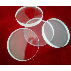 良質JGS2光学水晶ガラス板、透明な水晶リング、曲げられた版の水晶ガラス
