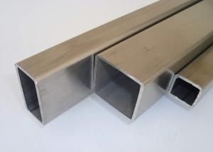China Rectangular Stainless Steel Welded Tube , Schedule 10 Stainless Steel Pipe 310s 304L 316L on sale
