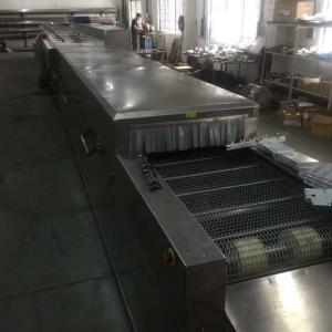 China Agricultural Industrial Conveyor Oven , Commercial Drying Oven Large Loading Capacity on sale