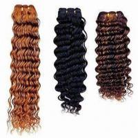 Deep wave human hair weaving