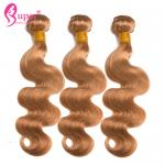 Healthy Ombre Brazilian Body Wave Color 27 Human Cuticle Aligned Double Drawn Weft