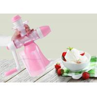 China Handmade Flavored Fruit Ice Cream Maker Hand Crank Non Electric juice machine on sale
