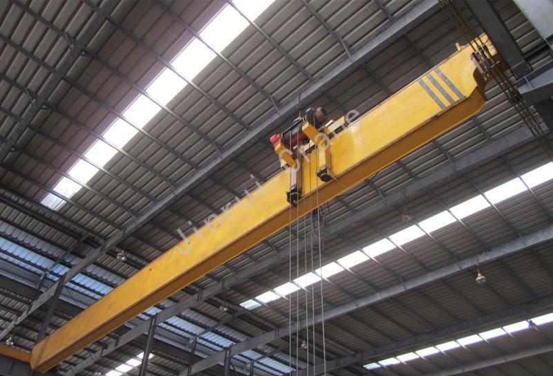 European Type & Japan Type Single Girder Overhead Crane 10 Ton