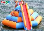 Giant Commercial Inflatable Water Slide With Climbing Tower Inflatable Water Climbing Slide For Sale