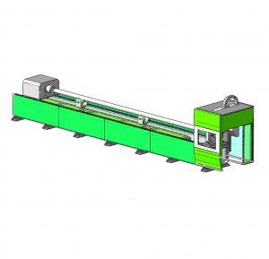 China IPG / RAYCUS Fiber Optic Laser Cutter , Fiber Laser Metal Cutting Machine Good Rigidity fiber laser pipe cutting machine on sale