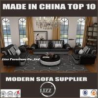 China Top Grain Leather Classic Sofa for Living Room (LZ-069B) on sale