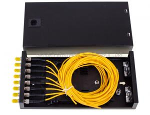 China SC FC ST LC 8 Port Enterprise Security Network ODF Terminal Box 8 Adapters And Pigtails on sale