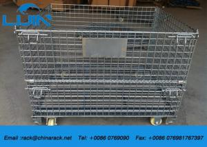 China Collapsible Assemble Wire Mesh Cages Storage, AS4084 Approval Metal Wire Cage on sale