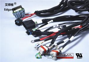 Customized Universal Automotive Wiring Harness With Whma ... on universal motor, universal ignition switch wiring, universal radio, universal controller, universal fuse box, universal steering column, universal tools, universal transformer, universal wire nut, universal fuel pump, universal plug, universal fuel filter, universal mounting bracket, universal fuel tank, universal muffler, universal wire wheels, universal turn signal, universal console, universal adapter, universal wire connector,