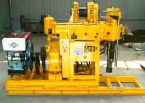China GK -180 Portable Hydraulic Water Well Drilling Rig With Automatic Feeding Device on sale