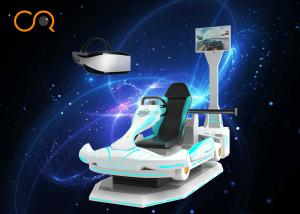 China F1 Vr Racing Games Virtual Reality Driving Simulator With Electric Dynamic Platform on sale